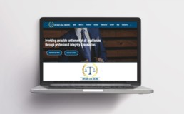Web design for Legal Firm: Crystalite Legal Solicitors