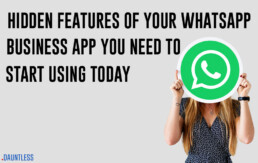 hidden features of WhatsApp business app